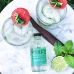 BeMixed zero calorie cocktail mixers cucumber mint recipe