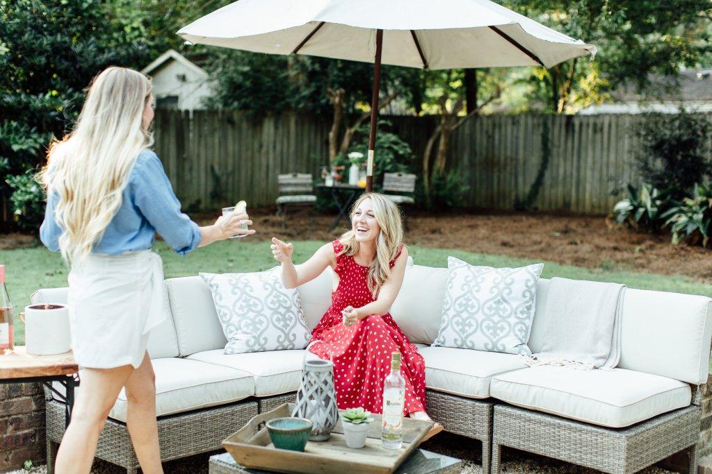 outdoor patio ideas wayfair sectional