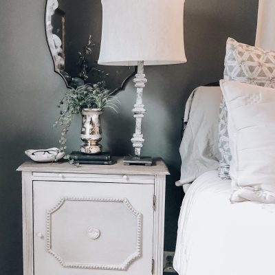 Bedroom Reveal | Side Tables and Lamps