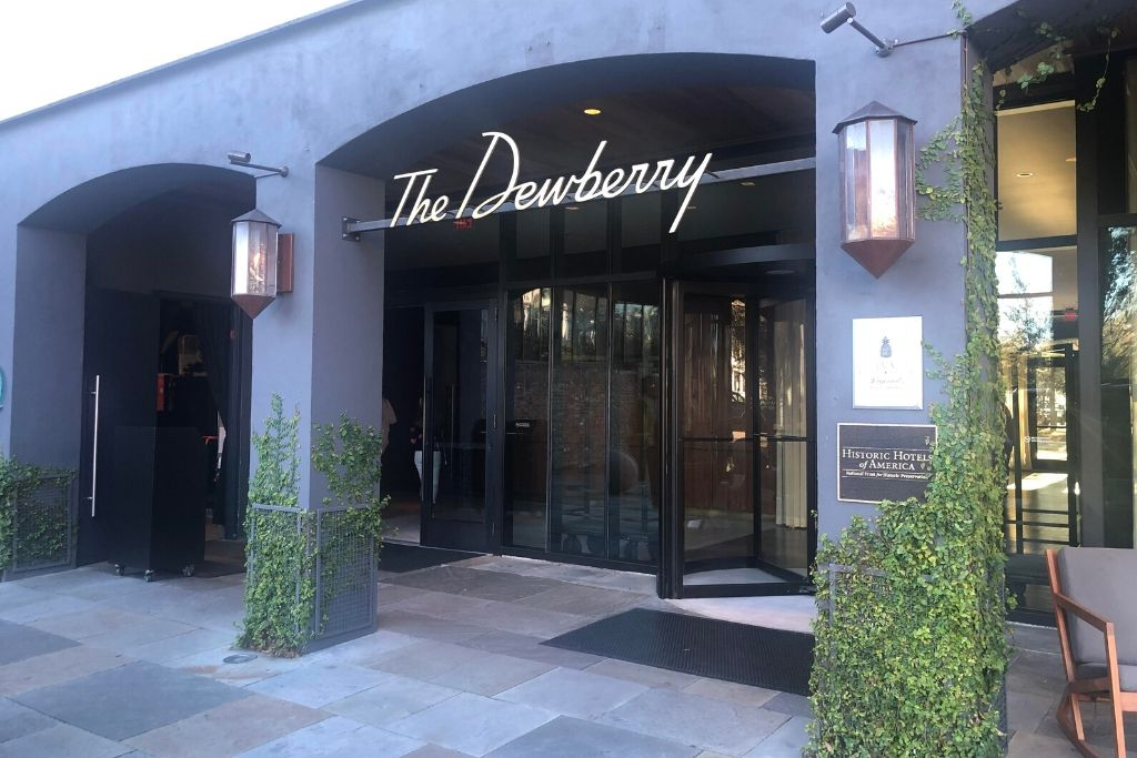 hotels in charleston sc the dewberry