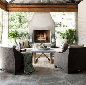 art of the home covered patio ideas