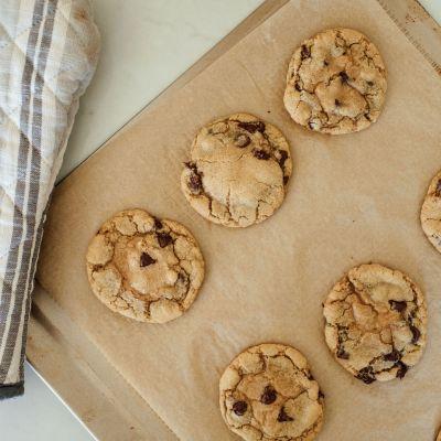 chocolate chip sea salt cookies