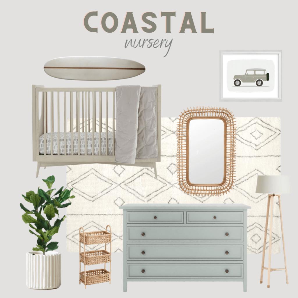 coastal gender neutral nursery ideas
