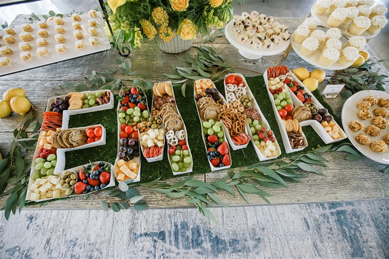 name charcuterie board letters