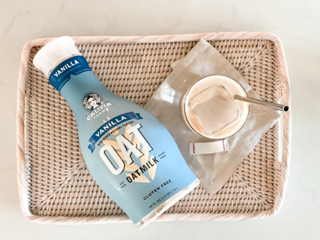 iced oatmilk latte recipe