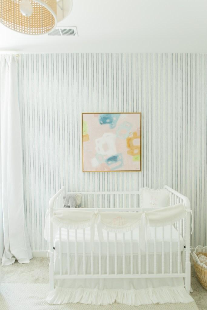 nursery wallpaper and art
