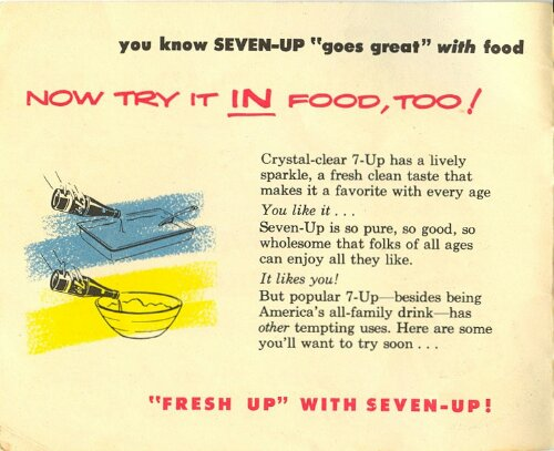 7-Up Recipe Book from 1953 (2/6)