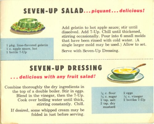 7-Up Recipe Book from 1953 (5/6)