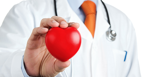 An image depicting a person holding a fake heart.