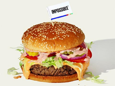 Soy Protein Featured in Impossible Burger