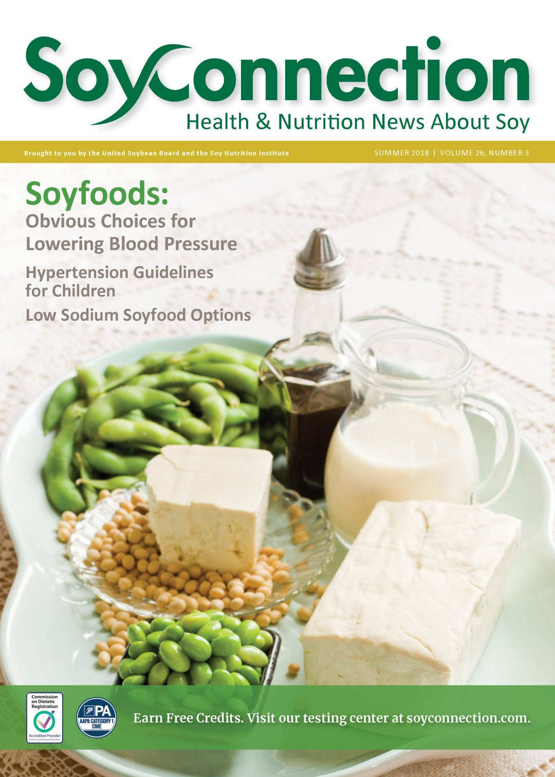 Soy ConnectionLowering Blood Pressure