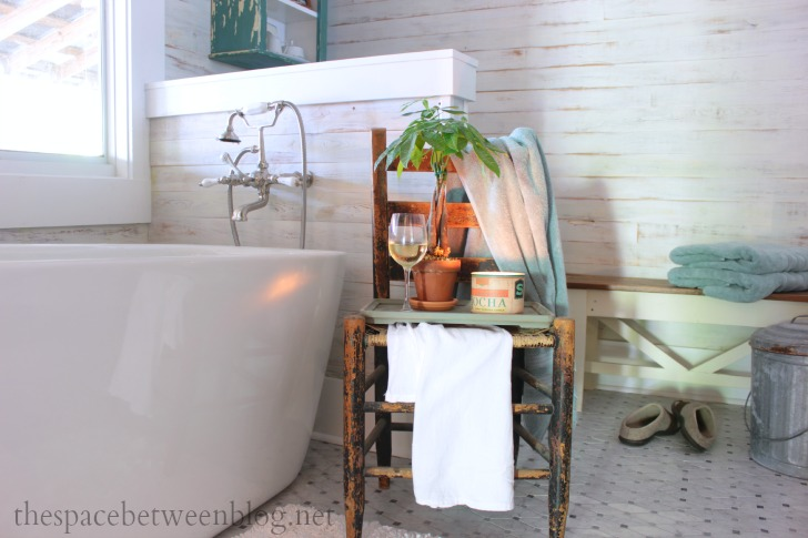 freestanding tub and wall mount faucet