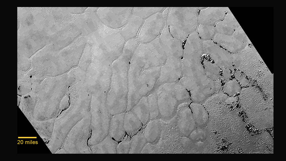 Pluto is Geologically Active