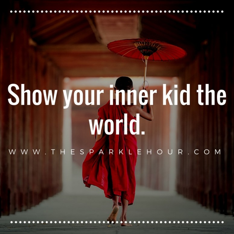 Show your inner kid the world.