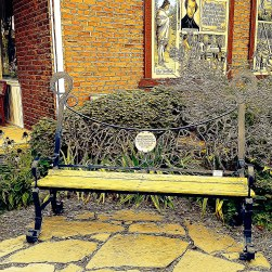 Nice Bench~Frankenmuth