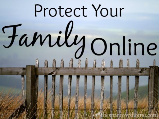 We protect our family in every other way, why do we forget online protection? Here are some tangible tips.