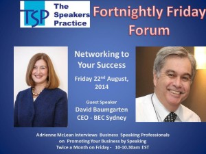 TSP-Fortnightly-Free-Friday-Forum-David-Baumgarten22nd-Aug