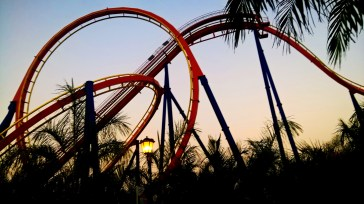The Nitro- Roller Coaster