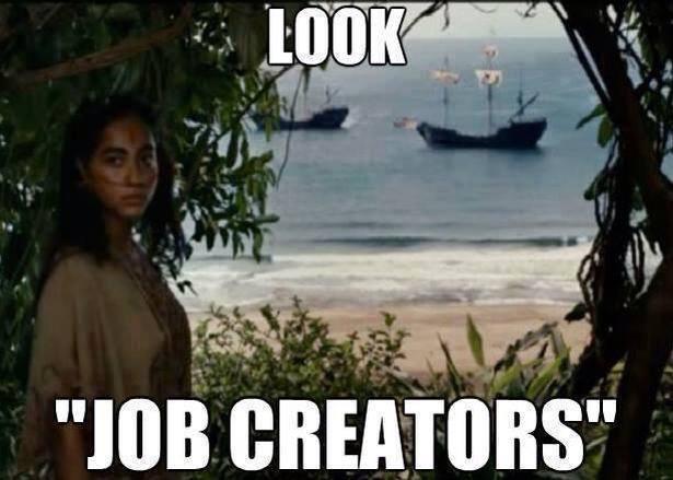 Look, Job Creators!