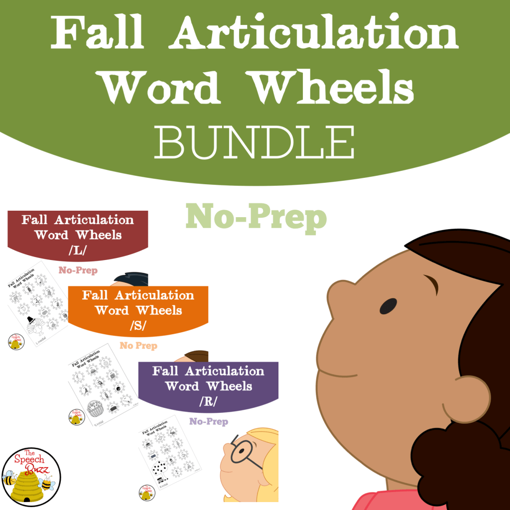 Articulation Wheels – a fun way to monitor progress!