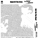 Maid Of The Grey - Sleeve