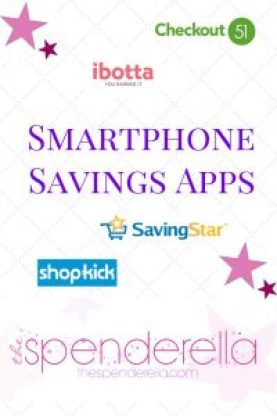 Smartphone Savings App