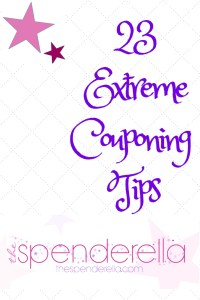23 Extreme Couponing Tips