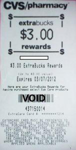 CVS - ExtraCare Bucks
