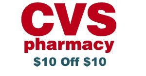 CVS Curbside Pickup – $10 off $10 Purchase Coupon