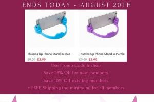 Pat Pat – FREE Shipping (No Minimum Purchase) with Promo Code hishop – Ends Today