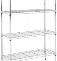 Highly Rated 4-Shelf Shelving Unit $39.86 (Regular $55.99)