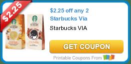 Starbucks Via Beverage Coupons + Walmart & Target Deal Scenarios