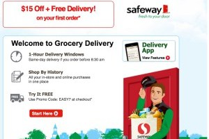 Safeway Delivery Expanding to New Zip Codes Including Hawaii + Deal Scenario with Promo Codes