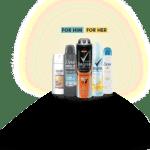 FREE Full Size Dry Deodorant Spray