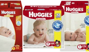 Amazon Huggies Diapers As low as $.10 a Diaper & Wipes $.01 each