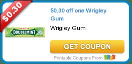 $.30/1 Wrigley Gum, $1/2 Clorox, $1/1 Tide & More Coupons