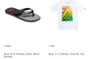 Quiksilver Two Promo Codes = 5 Items for $8.47 Each (Today ONLY)