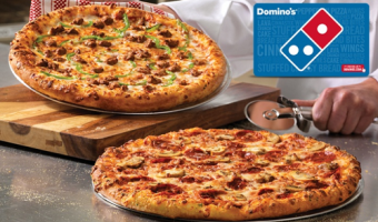 $5 for $10 Domino's eGift Card