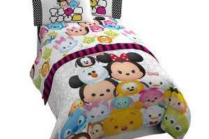Disney Tsum Tsum 3 Piece Twin Sheet Set $19.79 (Regular $29.99)