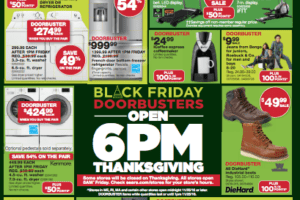 Sears Black Friday Ad Preview