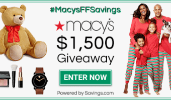 Macy's $100 Gift Card Giveaway