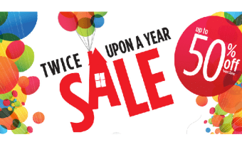 Disney Store – Twice Upon a Year Sale – Up to 50% Off