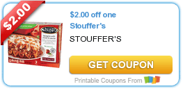 Three Stouffer's Coupons + Target Deals