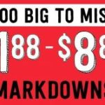 Crazy 8 Too Big to Miss Sale with Items starting from $1.88