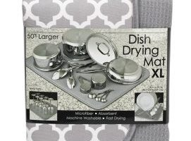 X- Large Microfiber Dish Drying Mat $5.89 (Regular $8.99)