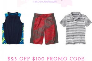 Gymboree – $25 off $100 Purchase + Earn GymBucks