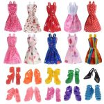 10 Pack Barbie Doll Clothes with 10 Pairs Shoes $1.29 Shipped!
