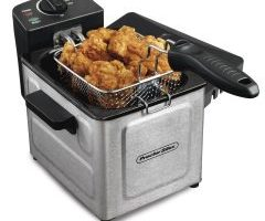 Proctor Silex Professional-Style Electric Deep Fryer $15.00 (Regular $28.00)