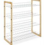 Whitmor 4-Tier Shoe Shelf Organizer $17.94 (Regular $47)