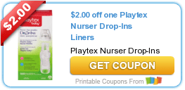 HOT $2/1 Playtex Bottles, Liners, Cups + More Coupons